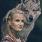 Focení s vlkem